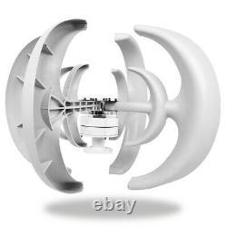 4500w Lantern Wind Turbine Generator Kit 12v Vertical 4 Lames Avec Controll Home