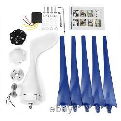 5 Blades 5000w Éolienne Générateur Unité 12v DC W. Power Charge Nouveau Contrôleur