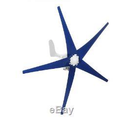 5 Lames 5000w Unité Éolienne Générateur De Courant Continu 12v Avec Contrôleur De Charge D'alimentation