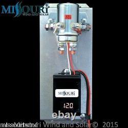500 Watt 7 Lame 12 Volt DC Sortie Éolienne Kit Missouri Éolienne Et Solaire