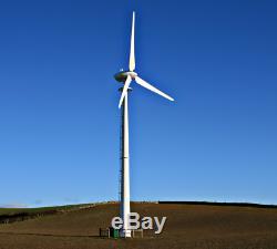 50kw Énergie Turbine Éolienne Démarrage Basse Vitesse Hors Réseau Highpower Génération