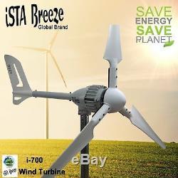 700w, 12v, 24v, 48v Eolienne, Eolienne, Windkraftanlage Istabreeze