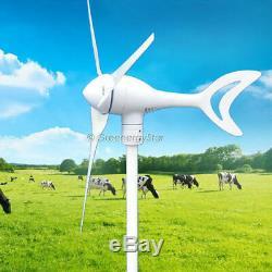 800 W Watt 12 V DC 3-6 Lame Wind Turbine Générateur + Contrôleur De Charge