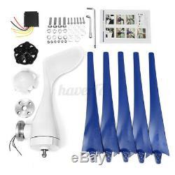 8000w 5 Blade Max Power Éoliennes Générateur Horizontale 24v Contrôleur De Charge
