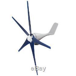 8000w Max Power 5 Blades DC 24v Éolienne Générateur Kit W Contrôleur De Charge