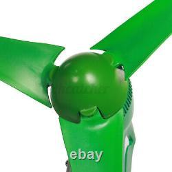 800w 12v 3 Turbine Éolienne À Lame Moulin À Vent À La Maison Avec Contrôleur De Charge