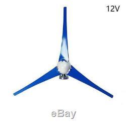 800w 3 Lames 12v 24v Horizontal Éolienne Générateur Électrique Contrôleur De Charge