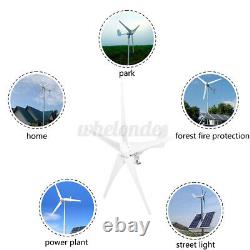 9000w 5 Lames Générateur De Turbine À Vent Avec Contrôleur De Charge Windmill Power DC 12v