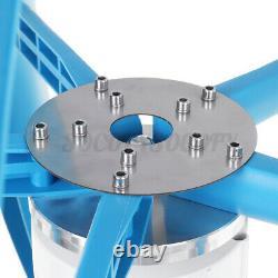9000w 5 Pales Lantern Wind Turbine Generator Vertical Axis Wind Power Dc12/24v
