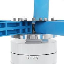 9000w DC 12/24v 5-blades Lantern Wind Turbine Generator Vertical Axis Wind Power