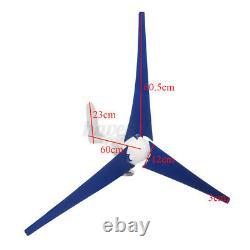 9000w Max Power 5 Lames 12/24v Kit Générateur D'éoliennes Avec Charge