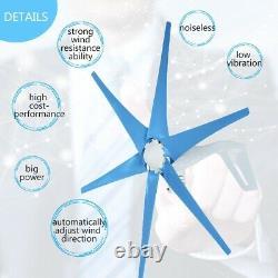9000w Puissant 6 Blade 12v/24v Wind Turbine Generator Kit