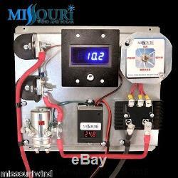A400 24 Volt Numérique Volt & Amp Éolienne Générateur Solaire Et Contrôleur De Charge