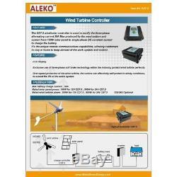 Aleko 24v Hybrides Contrôleur De Charge Pour Les Panneaux Solaires / Génératrice De L'éolienne