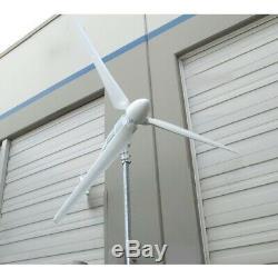Aleko Énergie Verte 48v 3000w Éolienne Générateur D'énergie 3 Lames