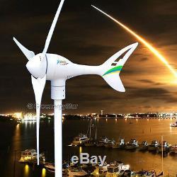 Apollo Max 550 W Watt 24 V Ac Aimant Pma Éolienne Générateur 3 Lame Nouveau