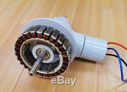 Apollo Truepower 5000w Ac 12v / 24v Aimant Pma Éolienne Générateur