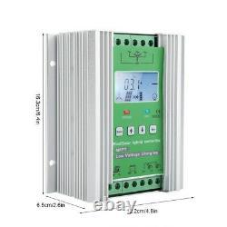 Contrôleur De Chargeur De Générateur D'éoliennes 12v/24v Mppt De 800w