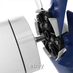 DC 48v 5 Lames 5000w Générateur De Turbine À Vent Avec Contrôleur De Charge D'alimentation Aa