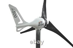 Ensemble I-500w 24v Windgenerator + Contrôleur De Charge Hybride Ista-breeze