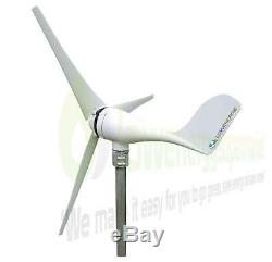 Éolienne 100w 12v Générateur Kit Bateau Hors Réseau Électrique Contrôleur De Charge Ukstock