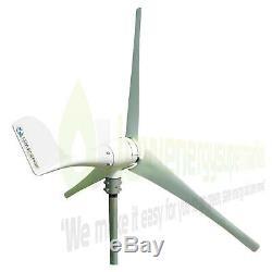 Éolienne 500w 48v Générateur Kit Bateau Hors Réseau Électrique Contrôleur De Charge Ukstock