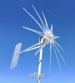 Eolienne Eolienne 1200w 11 Blade Effacer 12 Volt Ac 3-phase Pmg