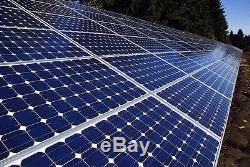 Éolienne Générateur Avenger 1600 Watt 6 + Lame Libre Panneau Solaire 245 Watts
