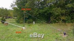 Éolienne Générateur Gin Base Pole Assemblée Pour Augmenter Ou Diminuer Votre Monture