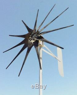 Eolienne Generator 1.450 Watt Max-core 11 Lame 24 Volt Ac 3-ph