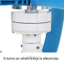 Générateur D'éoliennes 4000w 5 Pales 12/24v Lantern Windmill +charge Controller