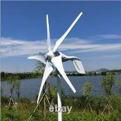 Générateur D'éoliennes 400w 5-blade Charger Controller Windmill Power DC 12v