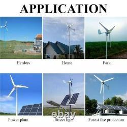 Générateur D'éoliennes 6000w 48v 6 Turbine À Vent À Pale Horizontal