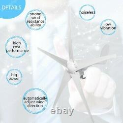 Générateur D'éoliennes Hybrides 3000w 5 Pales 12v/24v/48v & Controller & Inverter