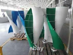 Générateur De Turbine À Vent Vertical Avec Contrôleur Mppt Pour Toit Top Éolienne