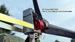 Générateur De Turbine Éolienne 48 Volts Courant Continu De Charge Ajouter Au Système De Générateur Solaire
