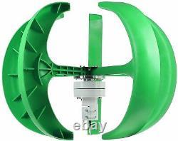 Générateur De Turbine Éolienne 9000w Générateur De Turbines Éoliennes Lanterne Vertical Axi 5 Blad