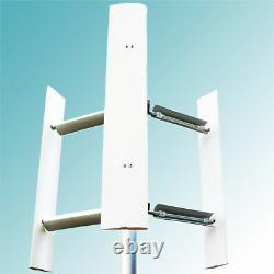 Générateur Vertical Domestique D'éolienne D'axe Eolo 3000w Toit De Jardin De Maison 3kw
