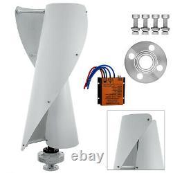 Helix Axis Maglev Générateur Vertical De Turbine Éolienne 2 Lames 400w Windmill+control