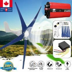 High Power 3000w 1000w Éoliennes Générateur Horizontal + Contrôleur De Charge
