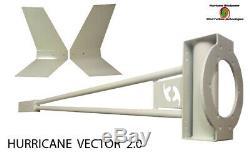 Hurricane Vector 48 Volt Grille Tied Wind Turbine Kit 1000 Watts Aérogénérateur