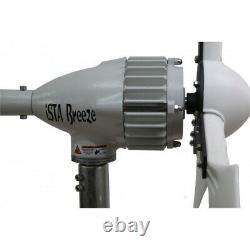 Kit I-700w 12v Windgenerator + Contrôleur De Charge Hybride Ista-breeze