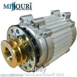 Liberté II Pmg Hydro Générateur À Aimant Permanent Avec Ventilateur Et Poulie