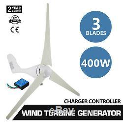 Max 400w 3 Blades Éolienne Générateur Kit Max DC 12v Option Aerogenerator