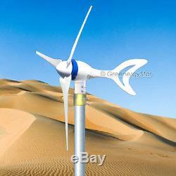 Megashark Max 650 Watt 24v DC Éolienne Générateur 3 Lame + Redresseur Nouveau