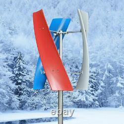 Meilleure DC 12/24v 3-blades Helix Générateur De Turbine Éolienne Axis Verticale Puissance Éolienne