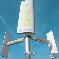 Mini Axe Vertical Générateur De Turbine Éolienne Darrieus Savonius Maison Roof Garden