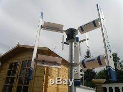Mini Petite Maison Axe Vertical Générateur De Turbine À Vent 3kw Eolo 3000 Moulin À Vent Vawt