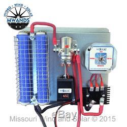 Missouri Freedom 12 Volt 1600 Watt 5 Lame Éolienne Générateur Noir Kit