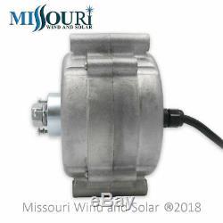 Missouri Freedom 12 Volt 1600 Watt 7 Lame Éolienne Générateur Kit Gris